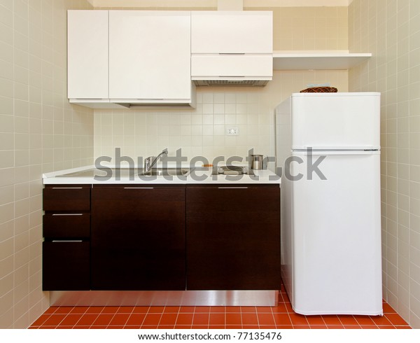 Kitchenette All Appliances Small Apartment | Transportation ...