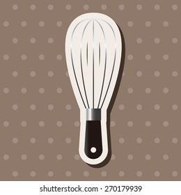 kitchenware beater, cartoon stickers icon