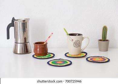 Kitchenware at home handmade
