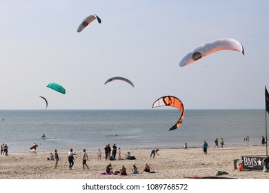 Kite Surf Masters Event at Westerland beach, Sylt, Germany on the 12th of May 2018