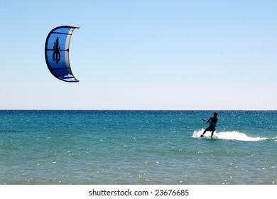 kitesurf - Shutterstock ID 23676685