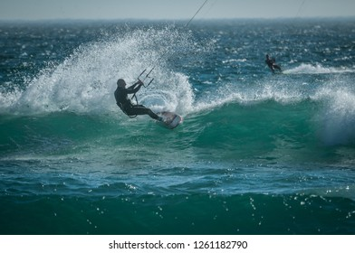 Kitesurfing - Dolphin Beach - Cape Town - South Africa