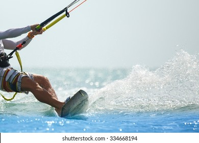 Kitesurfing, Kiteboarding action photos