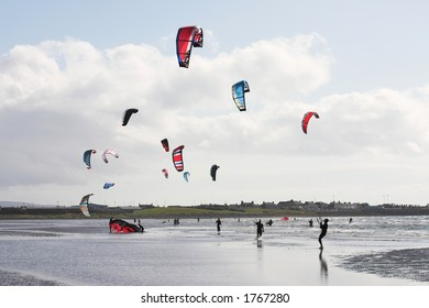 Kite-surfing kites