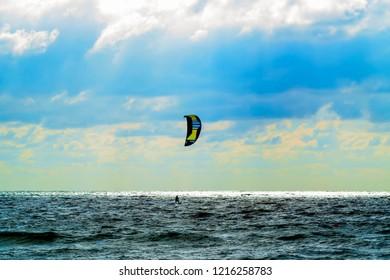 kitesurfing sea activities