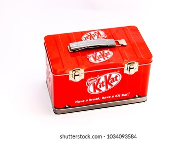 Kitkat box with candy box For collectors Sold in Thailand