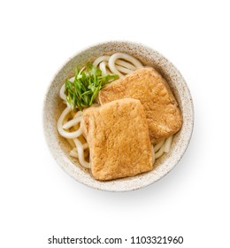Kitsune-Udon(udon with deep-fried tofu)