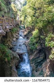 Kitzlochklamm Gorge in Austria
