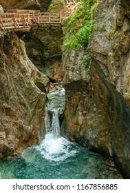 Kitzlochklamm Gorge, in Austria