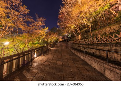 Kiyomizu-dera Temple at twilight