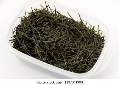 kizami nori, shredded nori, nori, dry seaweed, Japanese food