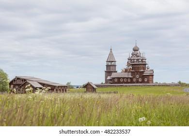 Kizhi island, Karelia, Russia