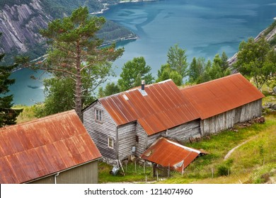The Kjeasen Mountain Farm in Eidfjord Norway