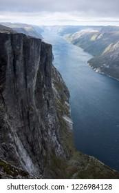 Kjerag in the Lysefjord