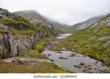 kjerag trek in Norway