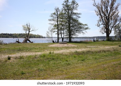Kladow hiking by the Havel in west side of Berlin in May