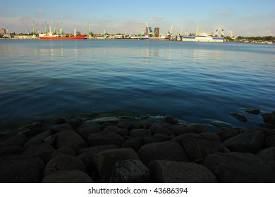 Klaipeda harbour, Lithuania, Europe