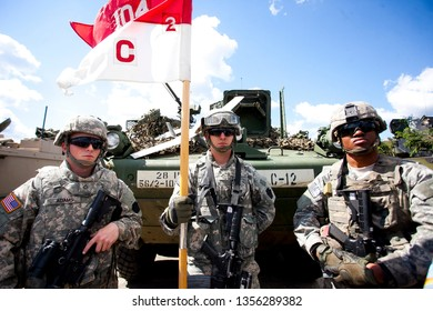 Klaipeda/Lithuania June 27, 2014 United States Army
