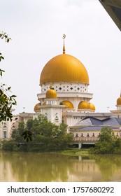 The Klang Royal Town Mosque,klang selangor ,malaysia at early morning.