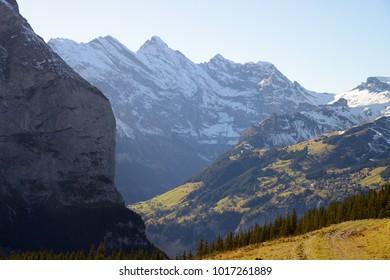 Kleine Scheidegg to Lauterbrunnen Hike, Jungfrau region, Switzerland