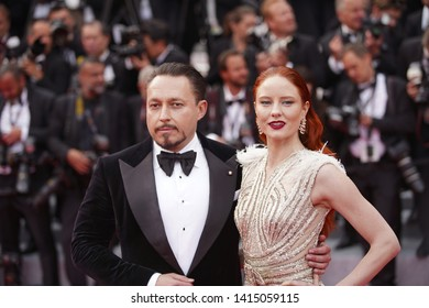 "Klemens Hallmann and Barbara Meier attend the opening ceremony and screening of ""The Dead Don't Die"" during the 72nd annual Cannes Film Festival on May 14, 2019 in Cannes, France."