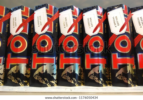 Klia Malaysia June 24 2018 Toblerone Stock Photo Edit Now 1176050434