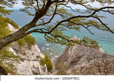 Möns Klint, chalk cliffs in Denmark