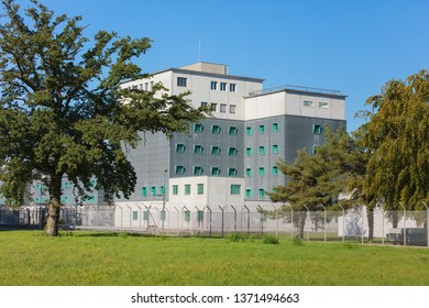 Kloten, Switzerland - September 30, 2016: the Zurich Airport Prison. The Zurich Airport Prison is an extradition and remand prison, located in the territory of the Zurich Airport.