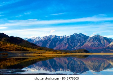 Kluane Lake Yukon Territories, Kluane National Park and Reserve.