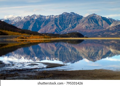 Kluane Lake Yukon Territories Kluane National Park and Reserve