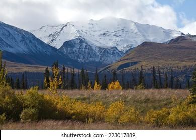 Kluane National Park scenic, Yukon, Canada