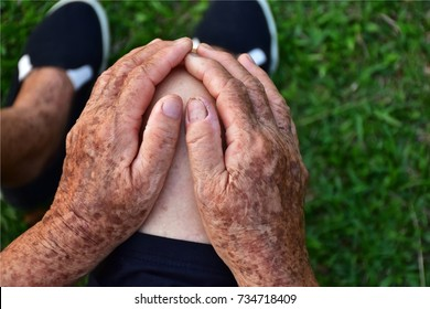 knee pain in older woman after exercise, Osteoarthritis