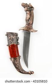 Knife isolated on white