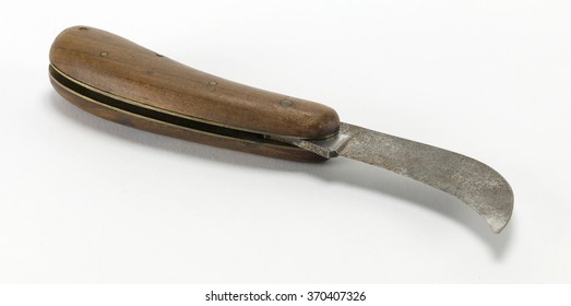 knife on white background