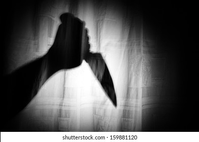 Knife in Shadow Hand