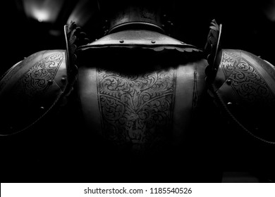 Knight armor in the shadow