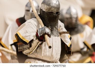 Knight in full armor