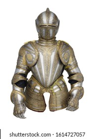 knight with transparent background , arms and armor