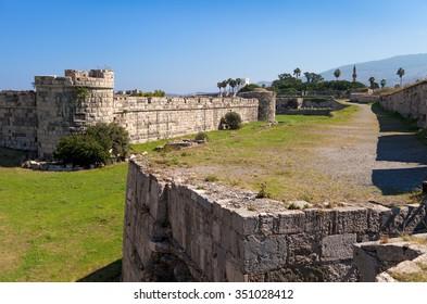 The Knight's Castle, Kos Town, Kos Island, Greece