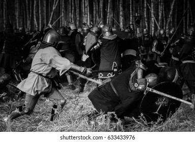 Knights on the battlefield