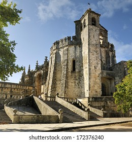 Knights of the Templar (Convents of Christ) in Tomar. Portugal