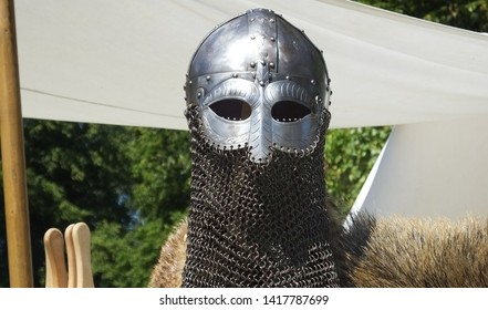 Knights weaponry and Armour used in fighting with swords and shields
