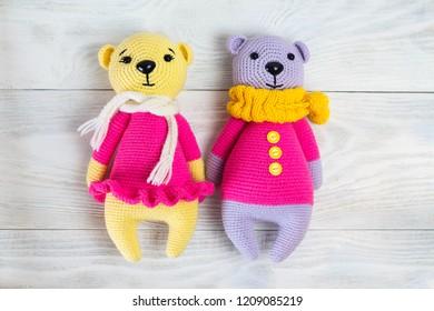 Amigurumi Pink Teddy Bear Free Crochet Pattern - Pinista   280x390