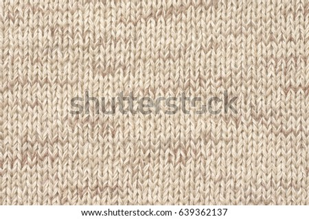Knitted Cloth Plain Stitch Texture Melange Stock Photo Edit Now
