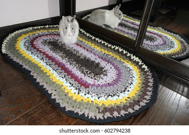 knitted colored Mat