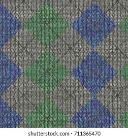 knitted fabric texture design