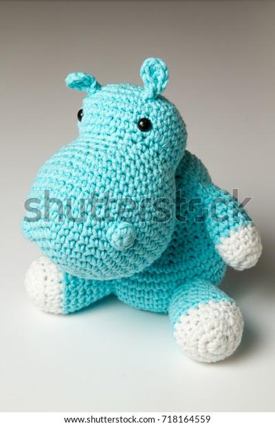 Amigurumi Hippo doll , Hippotamus Plush toy | Acessórios para bebê ... | 620x400
