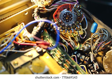 Knob of electronics circuit, structure of knob , electronics circuit of Avionics System ,Avionics equipment with maintenance