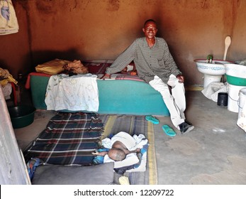 I know the couple for years both of them living with AIDS, children were never tested; they live in a village near Kalahari