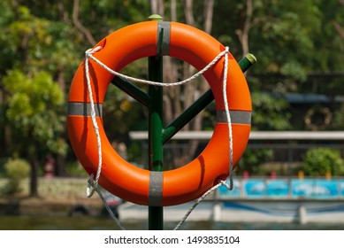 """Alifebuoy,ring buoy,lifering,lifesaver,life donut,life preserverorlifebelt, also known as a """"kisby ring"""" or """"perry buoy"""", is a life savingbuoydesigned to be thrown to a person in the water"""